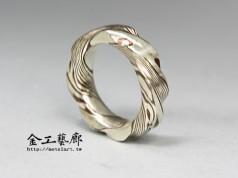 木目金❜指輪⑩